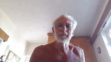 Nudist grandpa